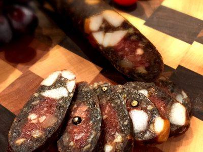 Waldheimer – Smoked Parmesan Salami (Non-Fermented)